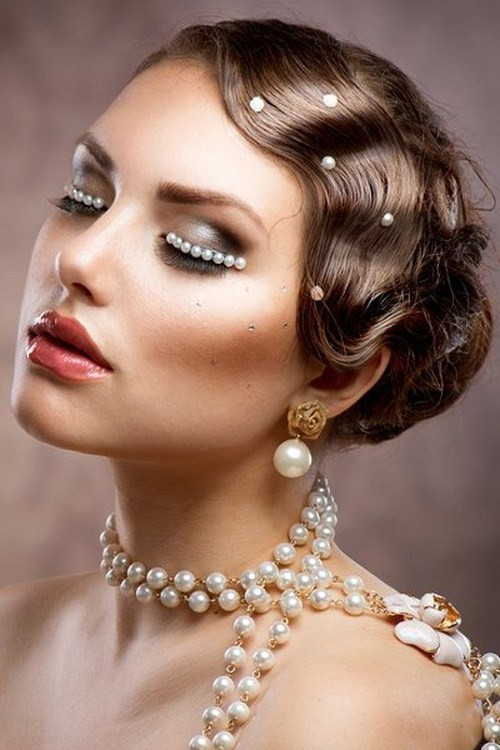 Best ideas about 20S Long Hairstyle . Save or Pin Wedding Curly Hairstyles – 20 Best Ideas For Stylish Brides Now.