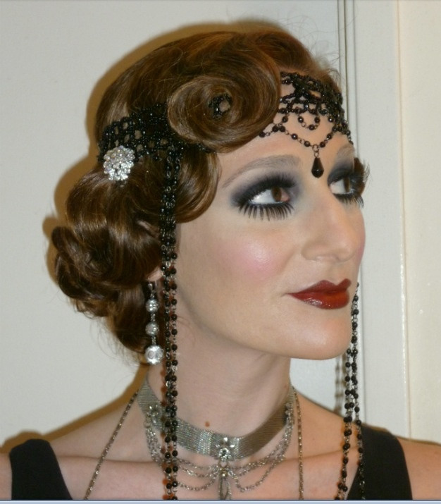 Best ideas about 20S Long Hairstyle . Save or Pin 1920 s hair and make up 1920s Glamour Now.