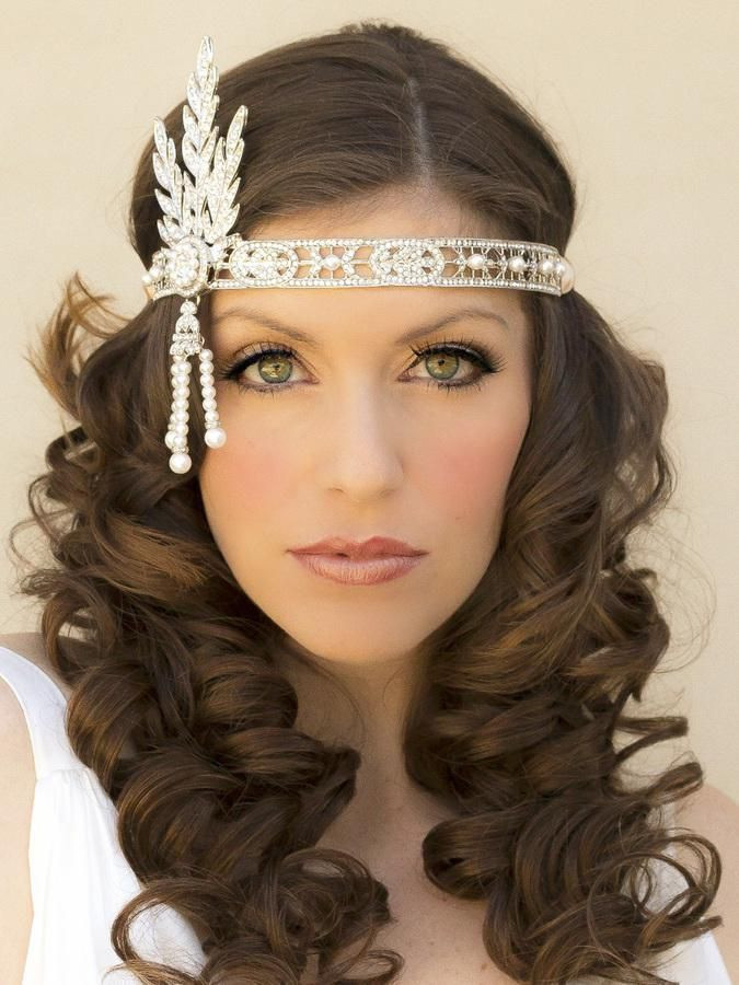 Best ideas about 20S Long Hairstyle . Save or Pin 1920s Hairstyles For Long Hair With Headband – Hairstyles Now.