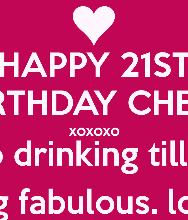 Best ideas about 21 Birthday Quotes . Save or Pin 21 Birthday Quotes For Girls QuotesGram Now.