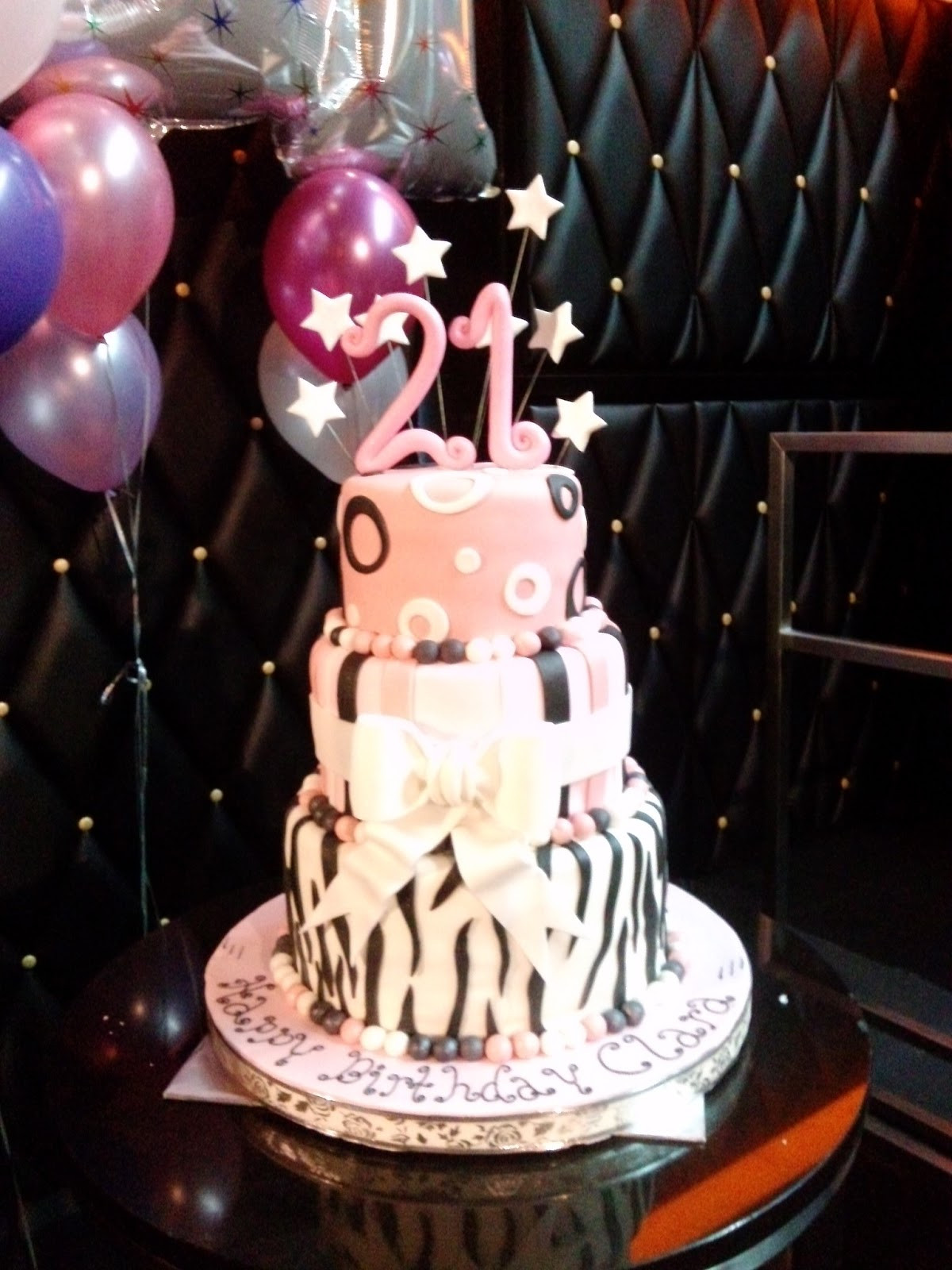 Best ideas about 21st Birthday Cake . Save or Pin 21ST BIRTHDAY THEME – Page 14 – sensational cakes Now.