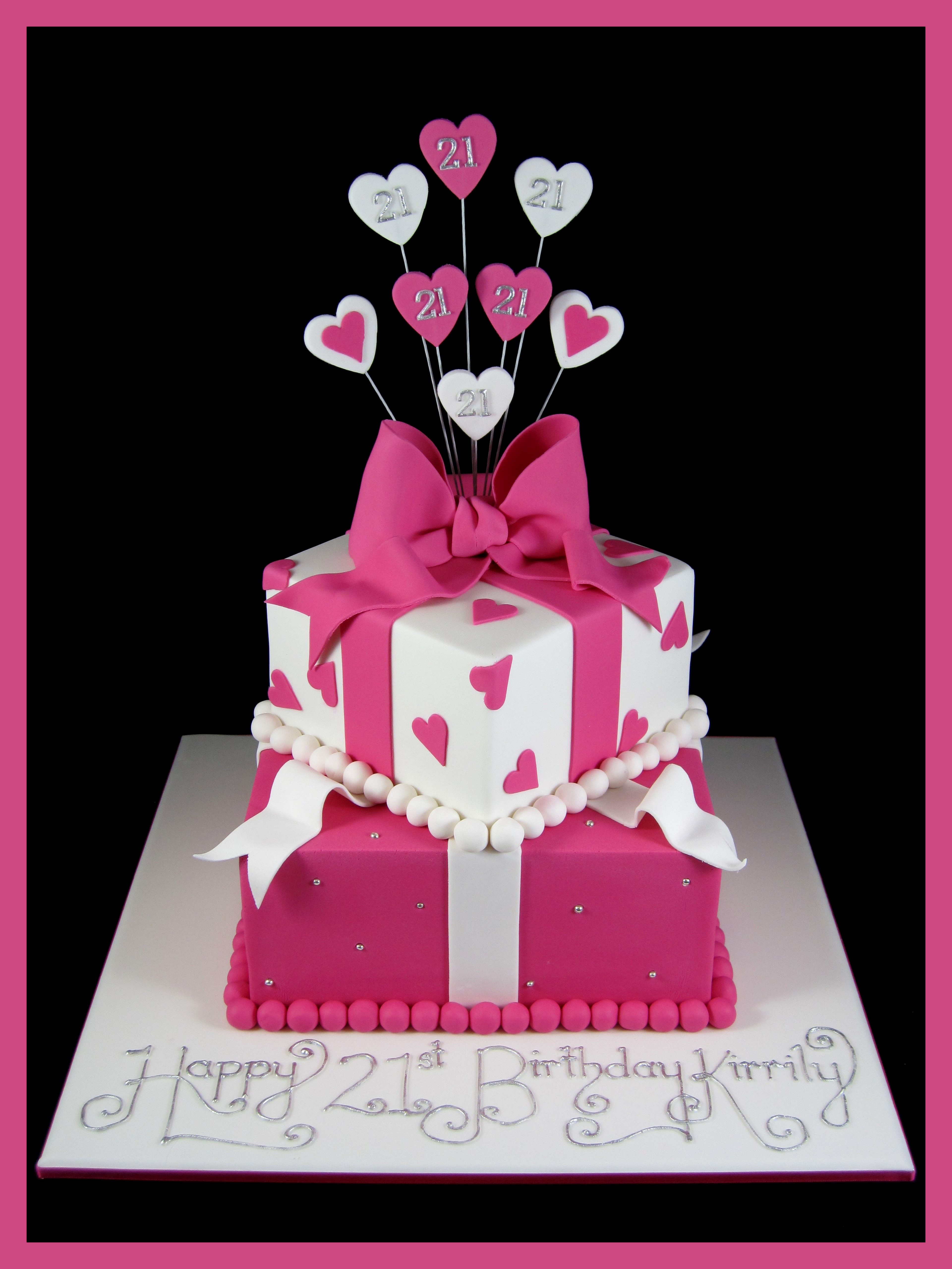 Best ideas about 21st Birthday Cake . Save or Pin 21st birthday for girls Now.