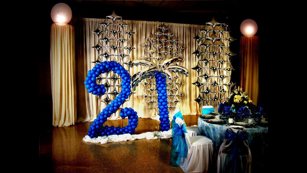 Best ideas about 21st Birthday Decorations . Save or Pin 21st Birthday Decoration Ideas DIY Now.