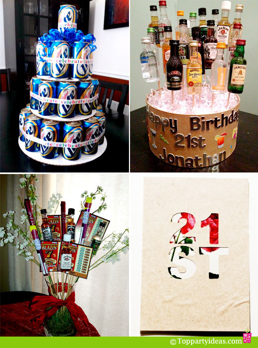 Best ideas about 21st Birthday Decorations . Save or Pin 21st Birthday Party Ideas Now.