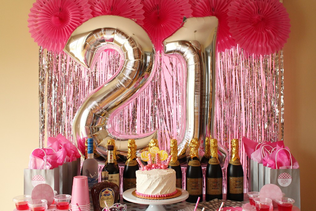 Best ideas about 21st Birthday Decorations . Save or Pin 21st Birthday Bash Now.