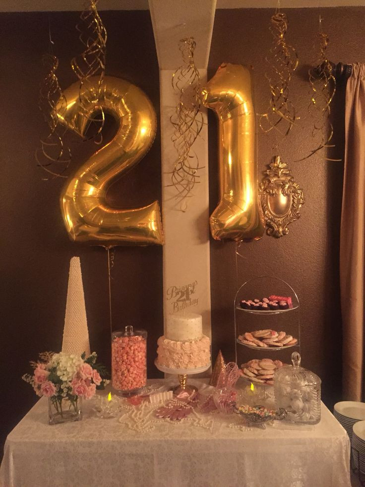 Best ideas about 21st Birthday Decorations . Save or Pin 25 best ideas about 21st Birthday on Pinterest Now.