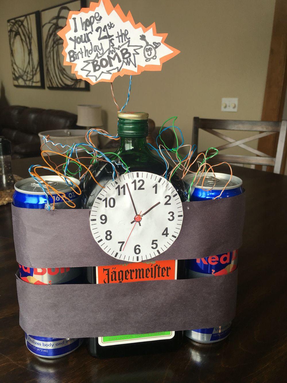 Best ideas about 21St Birthday Gift Ideas . Save or Pin Boyfriends 21st birthday idea Jäger s Creative Now.