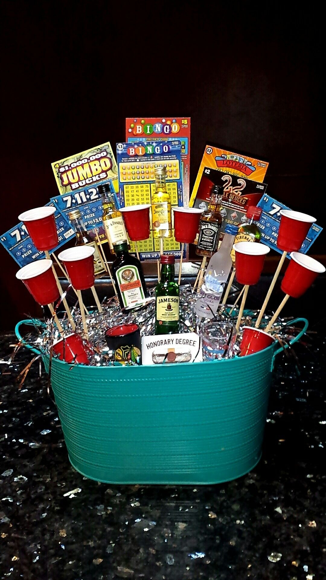 Best ideas about 21St Birthday Gift Ideas . Save or Pin Daily Lottery Result t baskets Now.