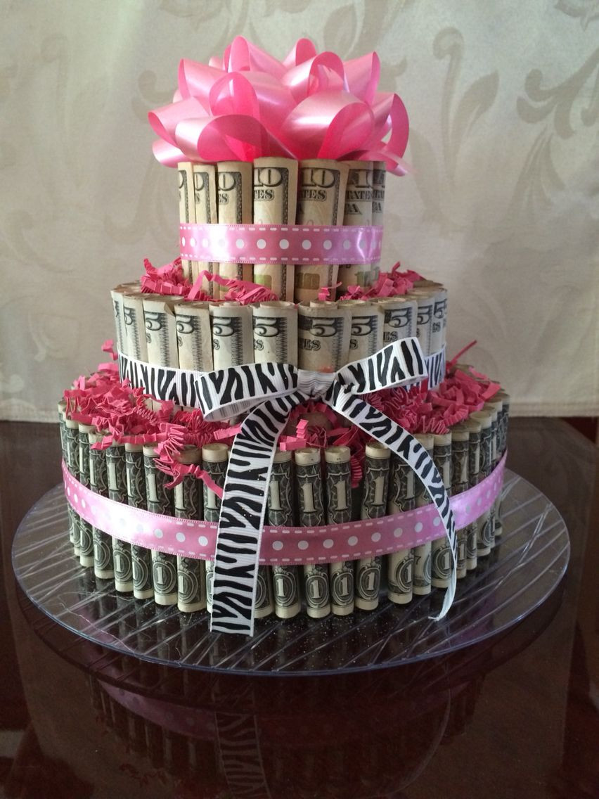 Best ideas about 21St Birthday Gift Ideas For Daughter . Save or Pin 21st birthday Money cake for my daughter … Now.