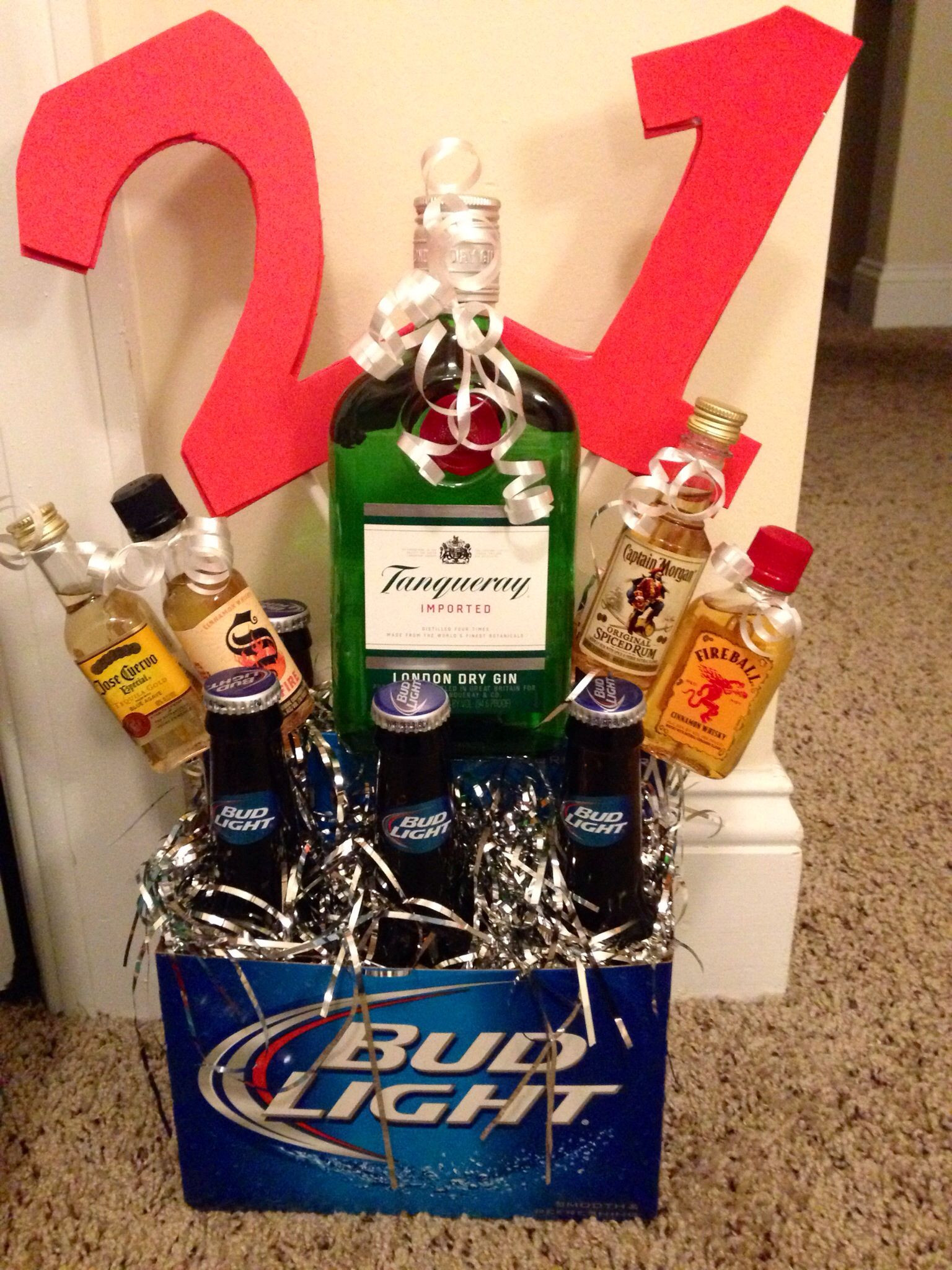 Best ideas about 21St Birthday Gift Ideas . Save or Pin 21st birthday idea for a guy Boys Now.