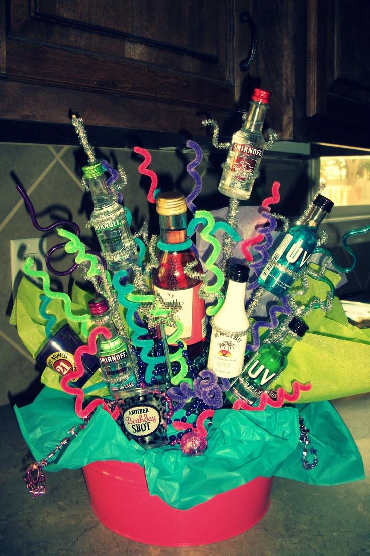 Best ideas about 21St Birthday Gift Ideas . Save or Pin Best 25 21st Birthday Basket ideas on Pinterest Now.