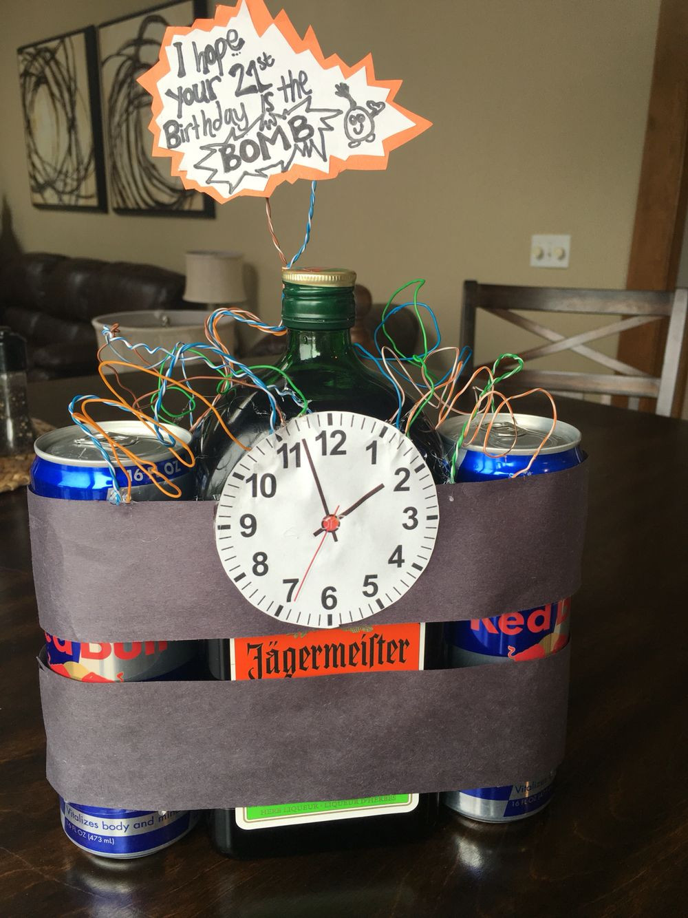 Best ideas about 21st Birthday Ideas For Him . Save or Pin Boyfriends 21st birthday idea Jäger s Creative Now.