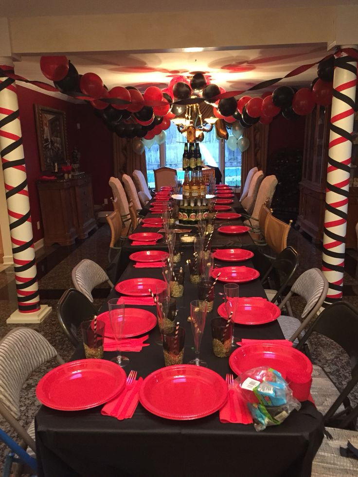Best ideas about 21st Birthday Party Ideas For Guys . Save or Pin Surprise 21st birthday party for my boyfriend Party 21 Now.