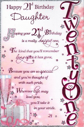 Best ideas about 21st Birthday Quotes For Daughter . Save or Pin Happy 21st birthday daughter funny ecards Now.