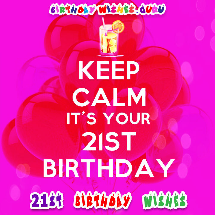 Best ideas about 21st Birthday Wishes . Save or Pin 21st Birthday Wishes and Greeting Card Messages Now.