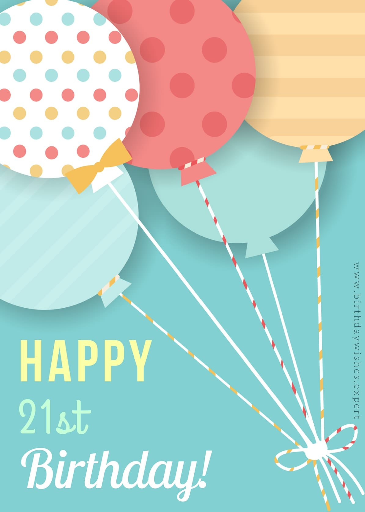 Best ideas about 21st Birthday Wishes . Save or Pin Birthday Wishes for 21st Birthday Now.