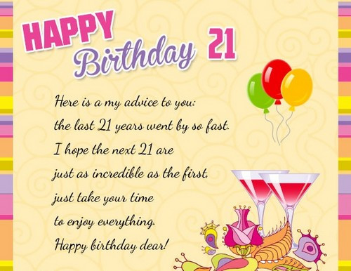 Best ideas about 21st Birthday Wishes For A Son . Save or Pin 21st Birthday Quotes and Wishes Now.