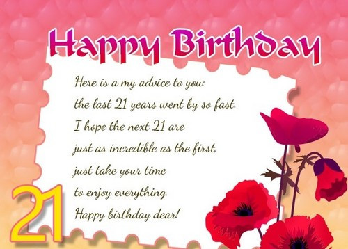 Best ideas about 21st Birthday Wishes . Save or Pin 21st Birthday Quotes and Wishes Now.