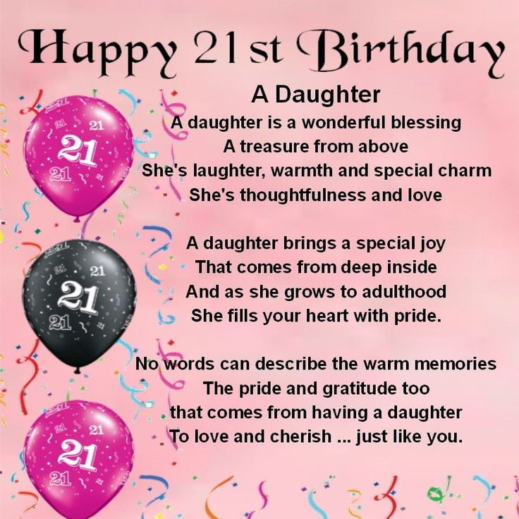Best ideas about 21st Birthday Wishes . Save or Pin Happy 21st Birthday Wishes to Daughter Now.