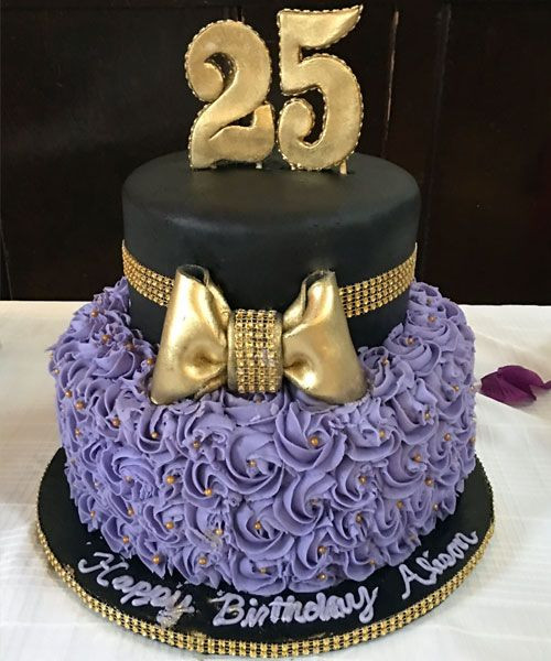 Best ideas about 25 Birthday Cake . Save or Pin Best 25 Purple cakes ideas on Pinterest Now.