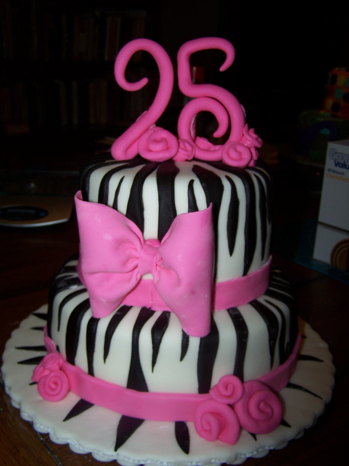 Best ideas about 25 Birthday Cake . Save or Pin Learning To Fly Cakes and Pastries Katherine s 25th Now.
