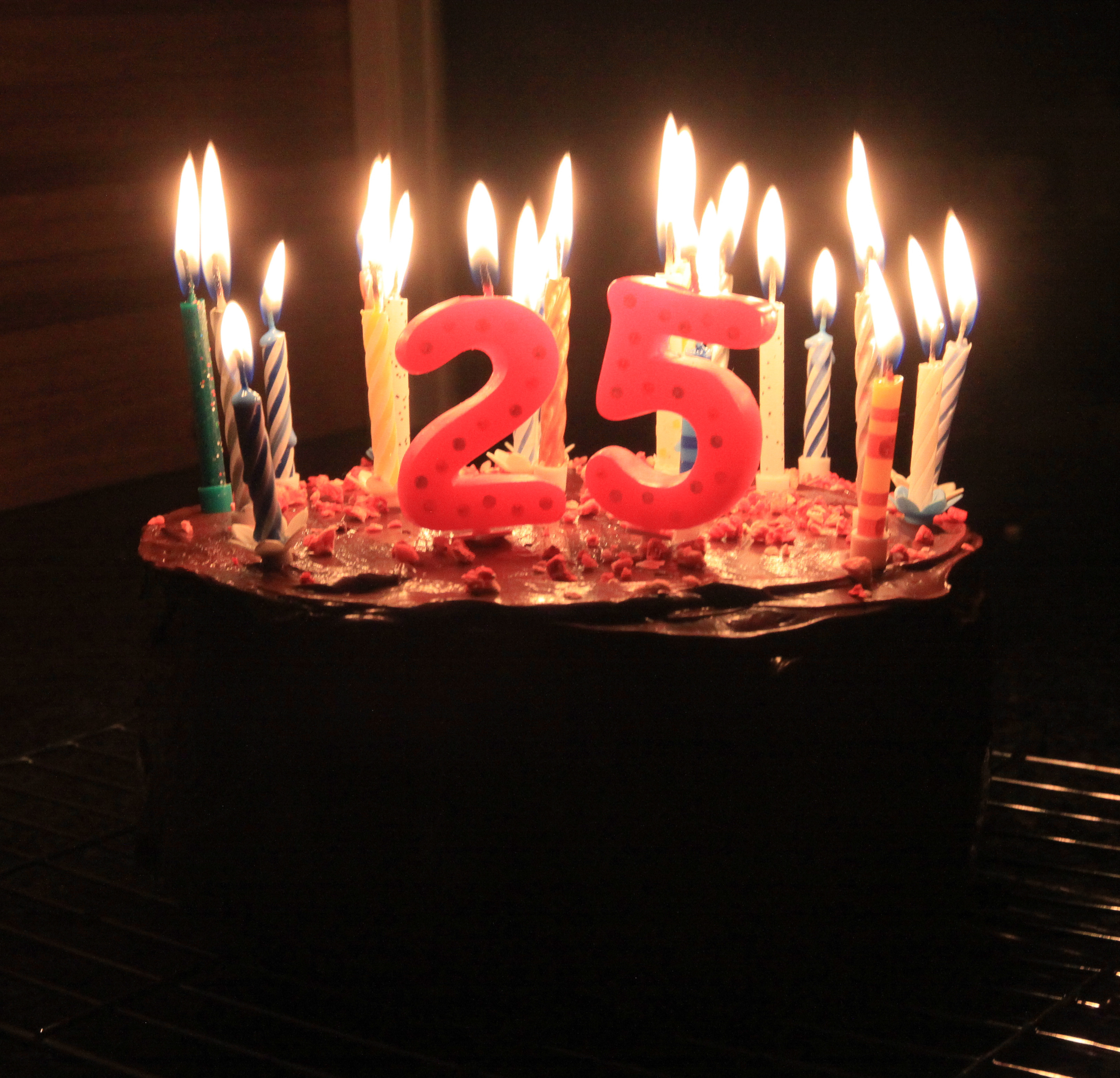 Best ideas about 25 Birthday Cake . Save or Pin My brother's 25th birthday cake it's VEGAN and general Now.