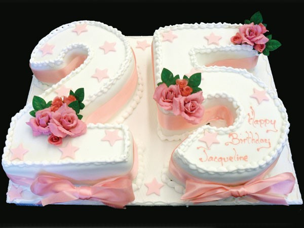 Best ideas about 25 Birthday Cake . Save or Pin Adult Birthday Cakes Made To Order Dunn s Bakery Now.