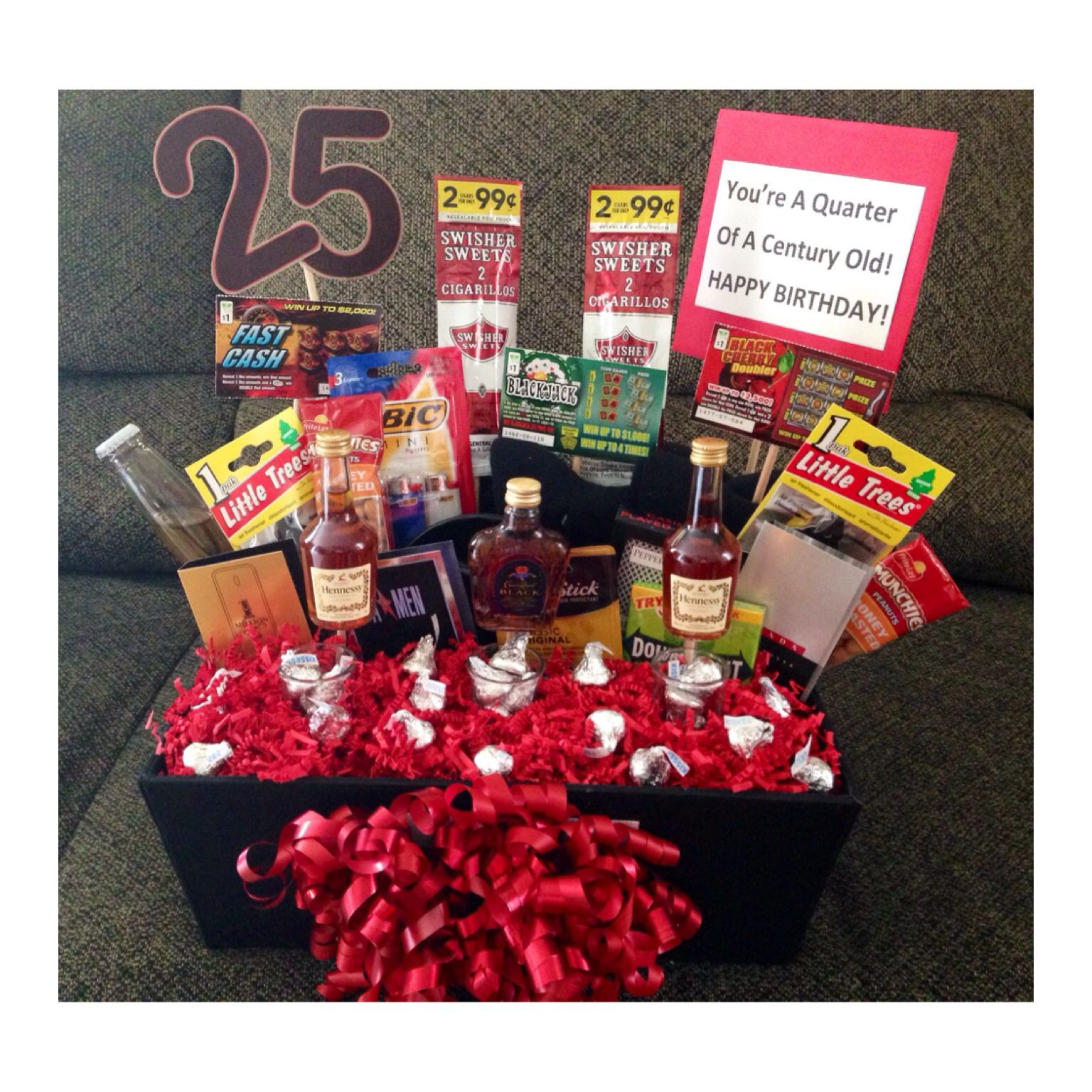 Best ideas about 25Th Birthday Gift Ideas For Him . Save or Pin 25th Birthday Ideas DIY Now.