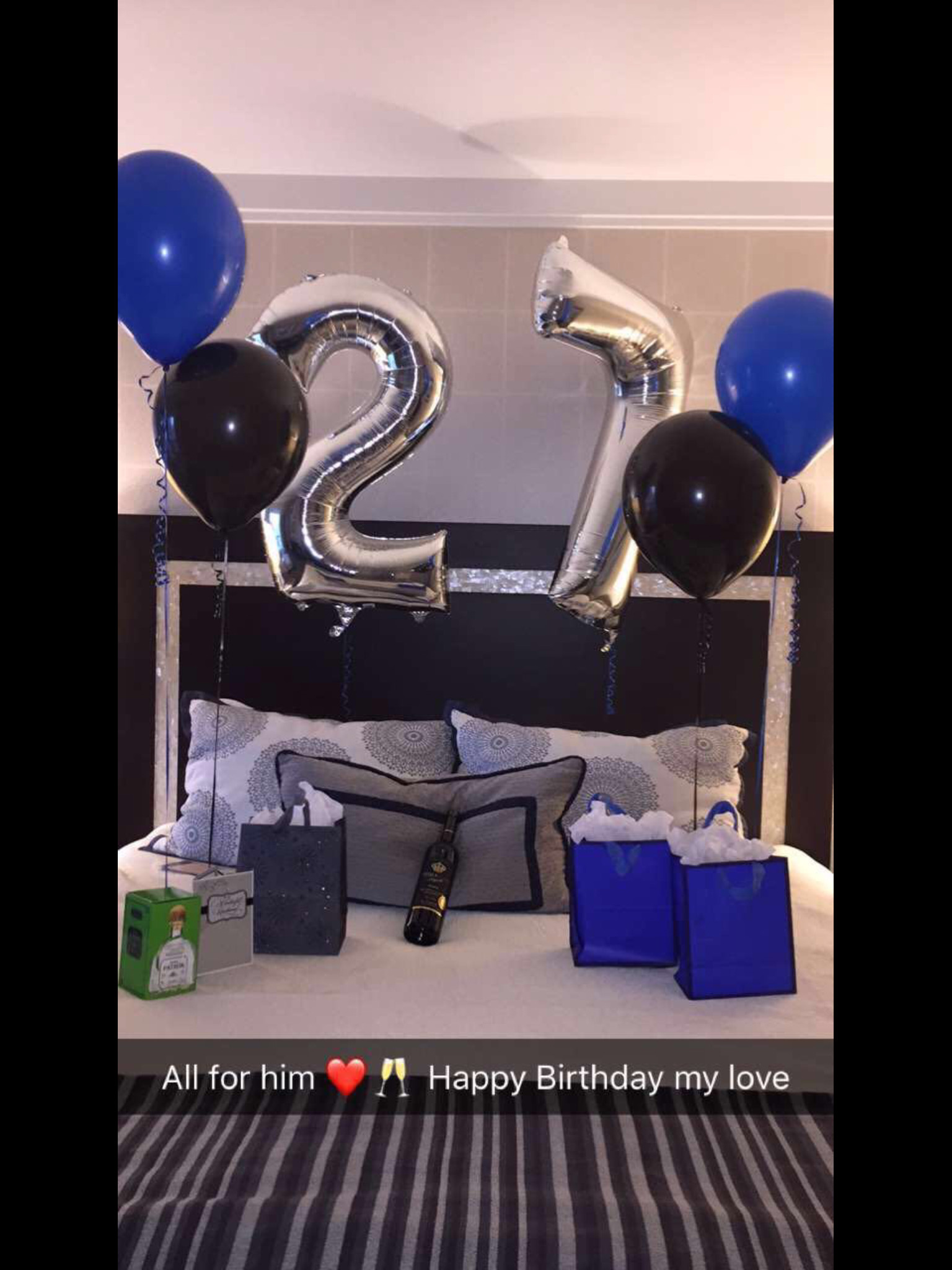 Best ideas about 25Th Birthday Gift Ideas For Him . Save or Pin Birthday Surprise For Him Boyfriends Now.