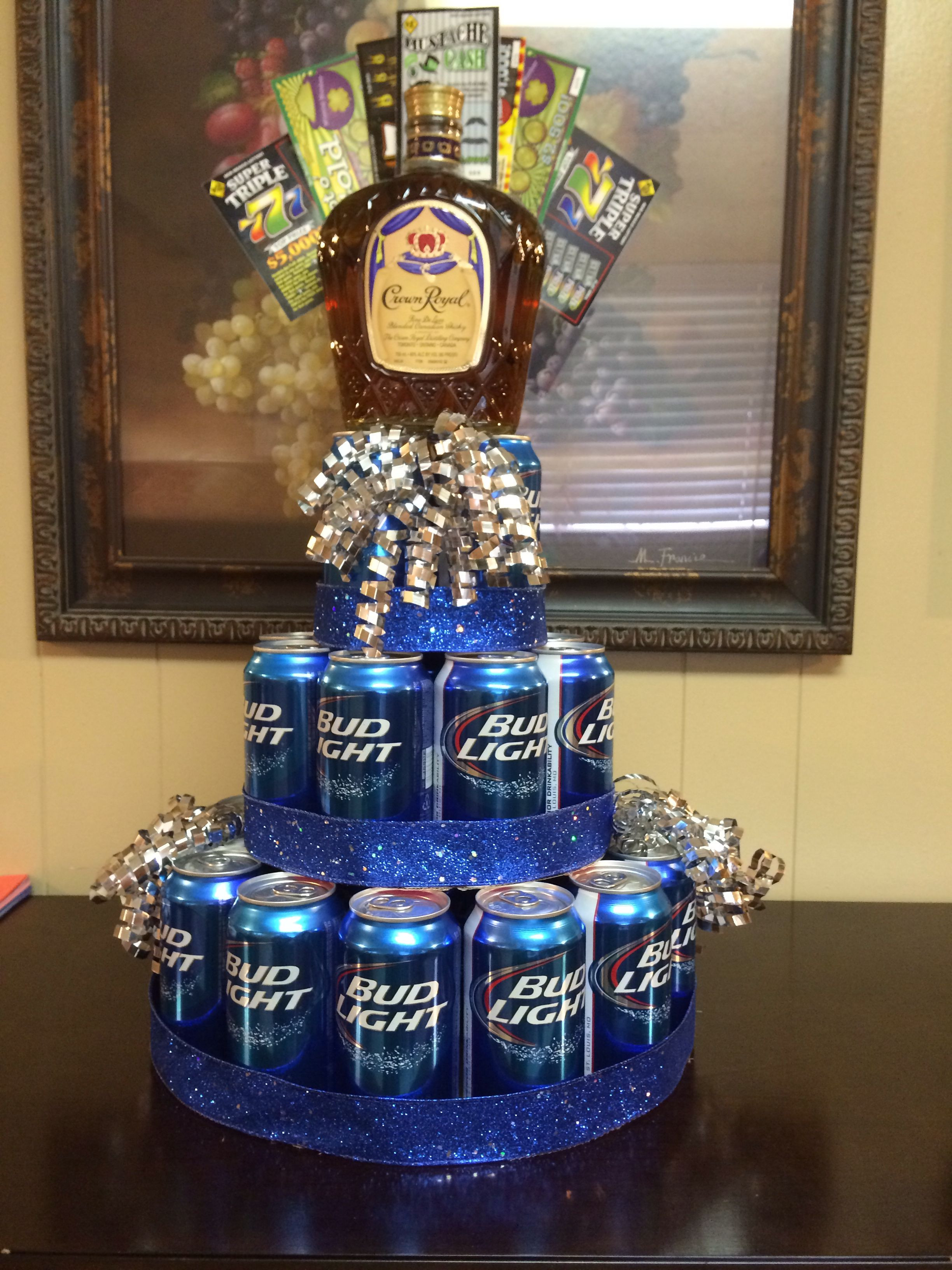 Best ideas about 25Th Birthday Gift Ideas For Him . Save or Pin Birthday cake for him DIY Gift Ideas Now.