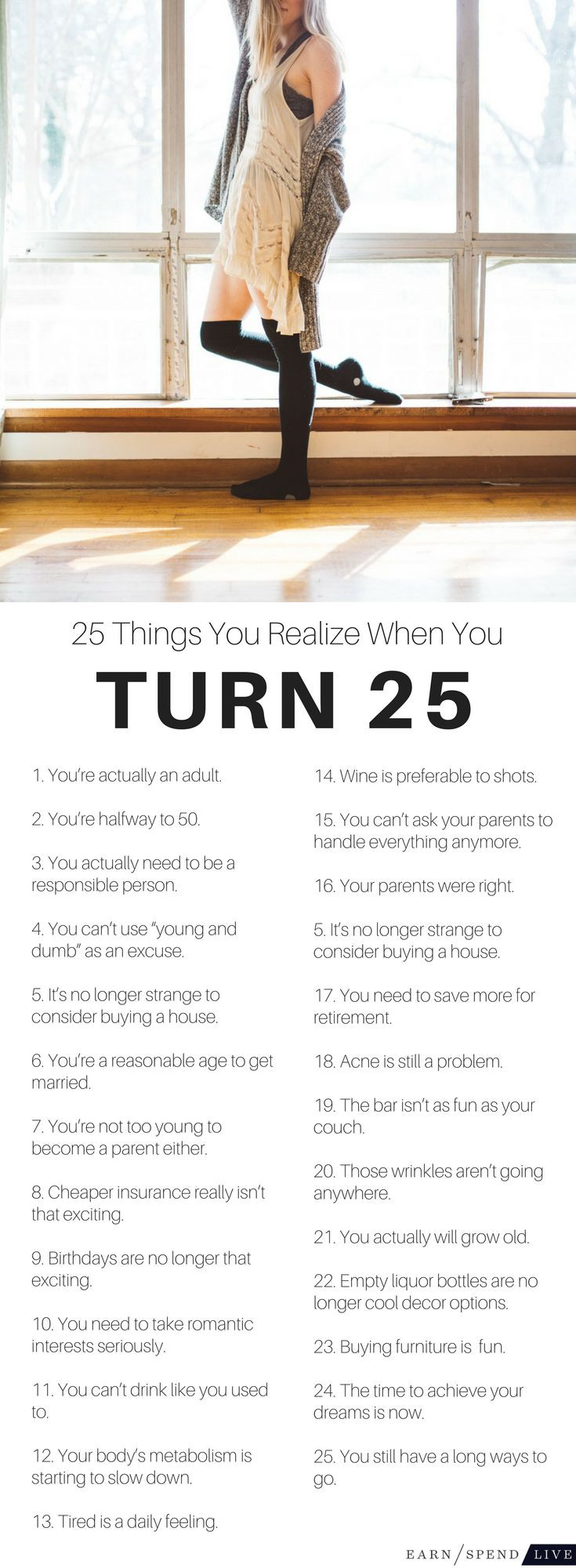 Best ideas about 25th Birthday Quotes . Save or Pin Best 25 25 birthday ideas on Pinterest Now.