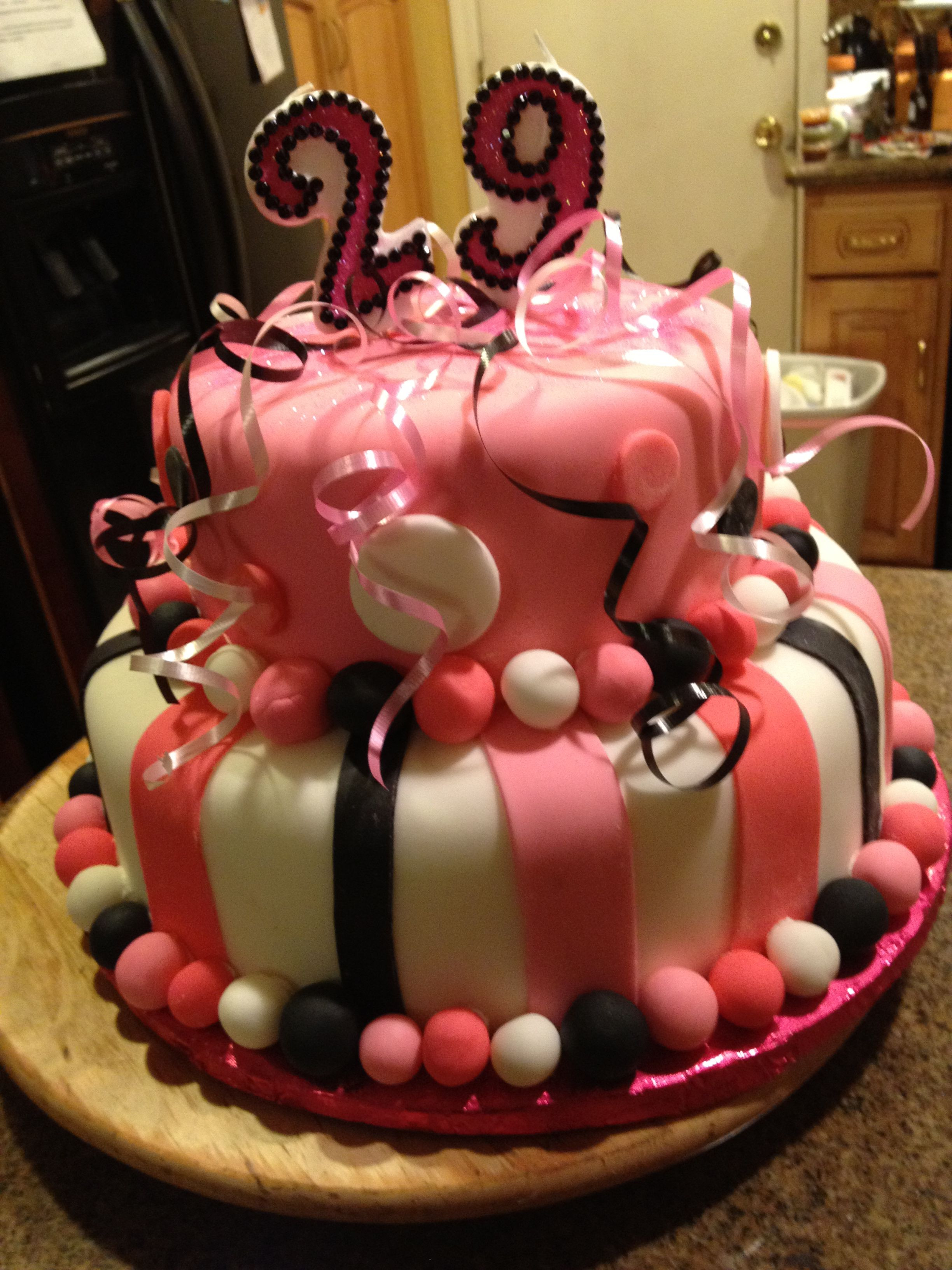 Best ideas about 29th Birthday Cake . Save or Pin 29th Birthday cake CAKES Now.