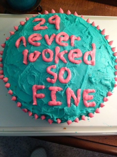 Best ideas about 29th Birthday Cake . Save or Pin Birthday cake for a 29 year old Gettin Crafty Now.