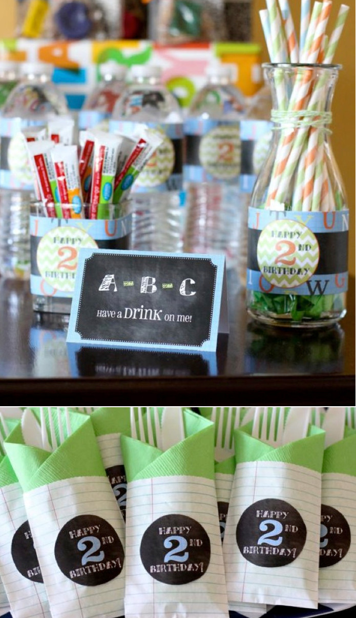 Best ideas about 2Nd Birthday Gift Ideas For Boys . Save or Pin Kara s Party Ideas Alphabet ABC Themed 2nd Birthday Party Now.
