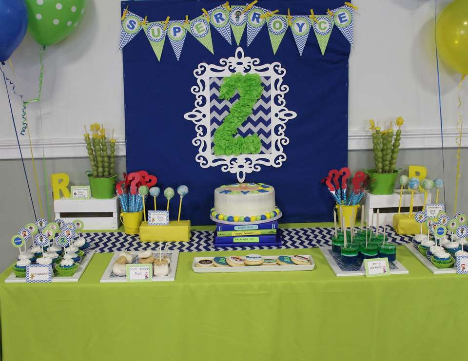 """Best ideas about 2Nd Birthday Gift Ideas For Boys . Save or Pin Super Why Birthday """"Royce s Stylish Super Why 2nd Now."""