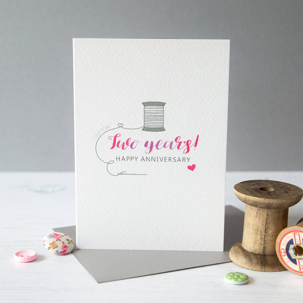 Best ideas about 2Nd Wedding Gift Ideas . Save or Pin Second Wedding Anniversary Gift Guide Cotton Gift Ideas Now.