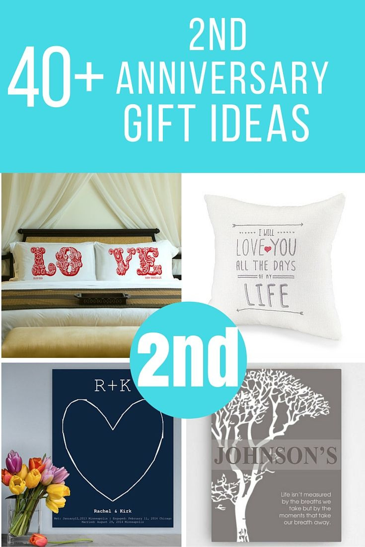 Best ideas about 2Nd Year Anniversary Gift Ideas . Save or Pin Lots of 2nd anniversary ts to help you find the perfect Now.