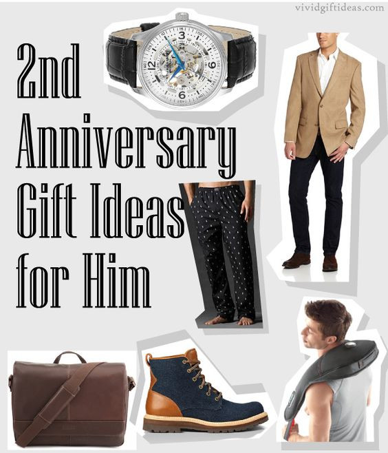 Best ideas about 2Nd Year Anniversary Gift Ideas . Save or Pin 2nd Anniversary Gifts For Husband Now.