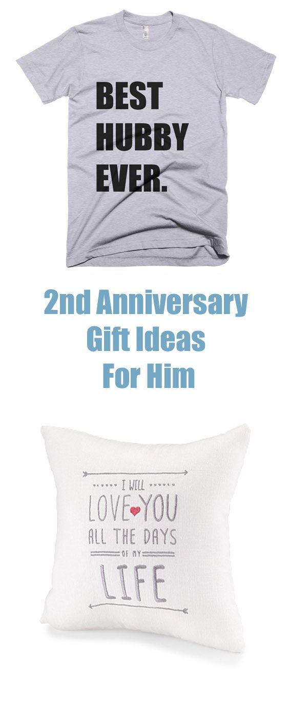 Best ideas about 2Nd Year Anniversary Gift Ideas . Save or Pin 2nd anniversary t ideas for him are traditionally in Now.