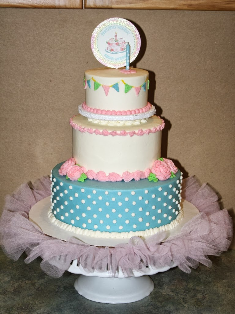 Best ideas about 3 Tier Birthday Cake . Save or Pin Party Cakes Baby Ballerina 3 Tier Birthday Cake Now.