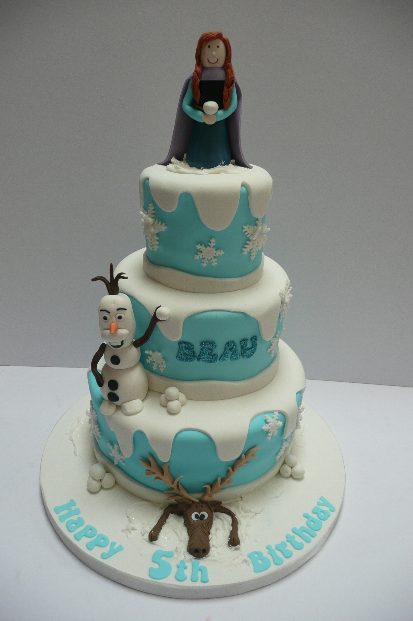 Best ideas about 3 Tier Birthday Cake . Save or Pin Birthday cakes Now.