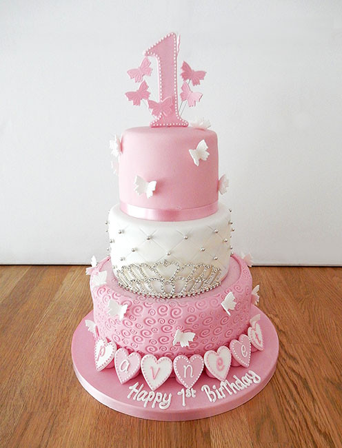 Best ideas about 3 Tier Birthday Cake . Save or Pin Celebration Cakes The Cakery Leamington Spa Now.