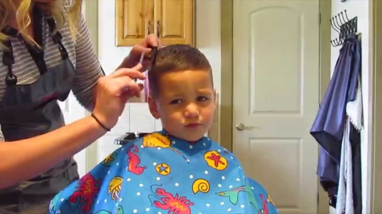 Best ideas about 3 Year Old Boys Haircuts . Save or Pin How to cut Little Boy Haircut Now.