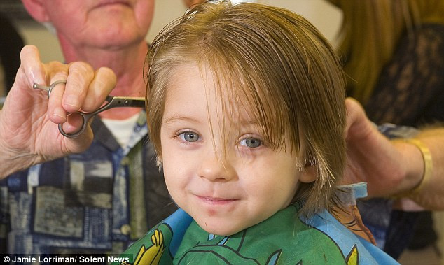 Best ideas about 3 Year Old Boys Haircuts . Save or Pin 3 Year Old Dedicates First Haircut to Cancer Patients Now.