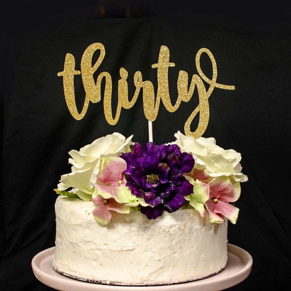 Best ideas about 30th Birthday Cake Ideas . Save or Pin Best 25 30th birthday cakes ideas on Pinterest Now.