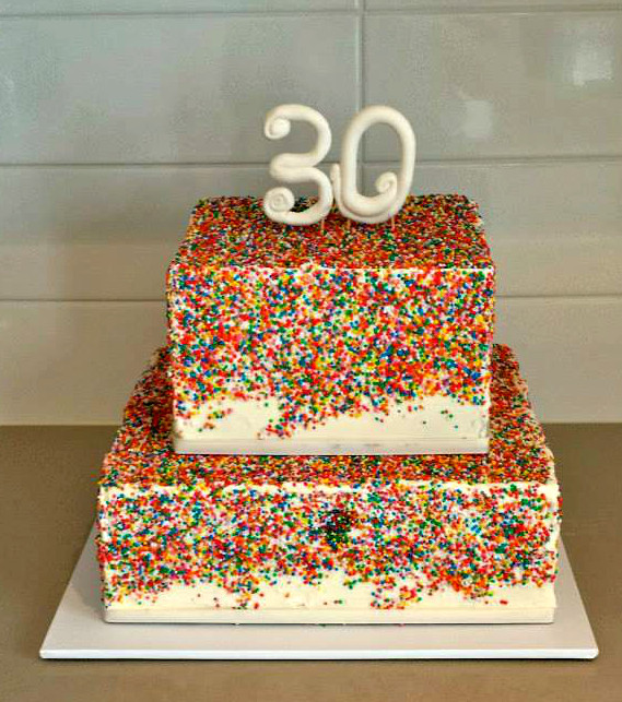Best ideas about 30th Birthday Cake Ideas . Save or Pin Creative 30th Birthday Cake Ideas Crafty Morning Now.