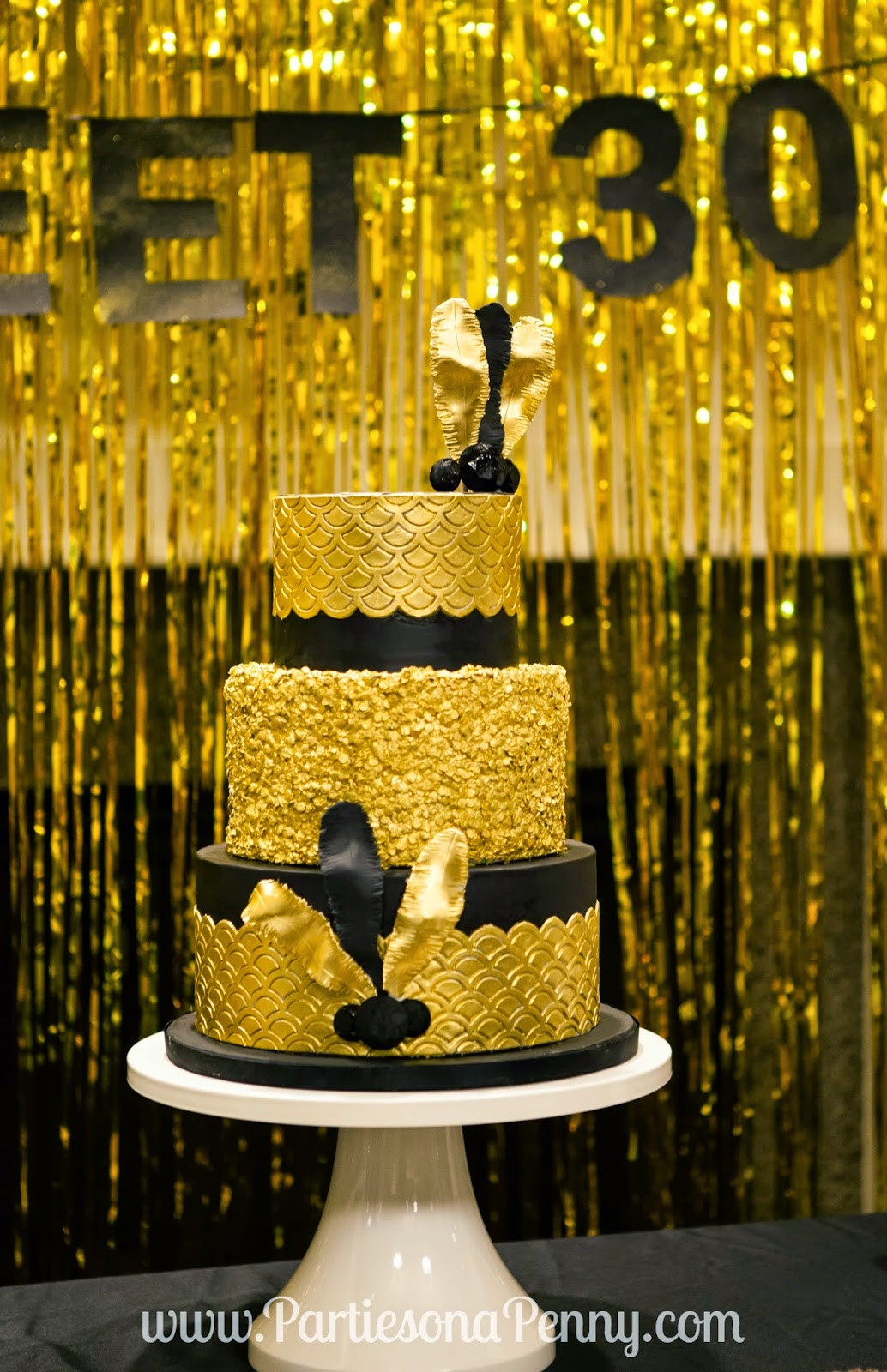 "Best ideas about 30th Birthday Decorations . Save or Pin Parties A Penny My ""Goodbye Roaring 20 s"" 30th Now."