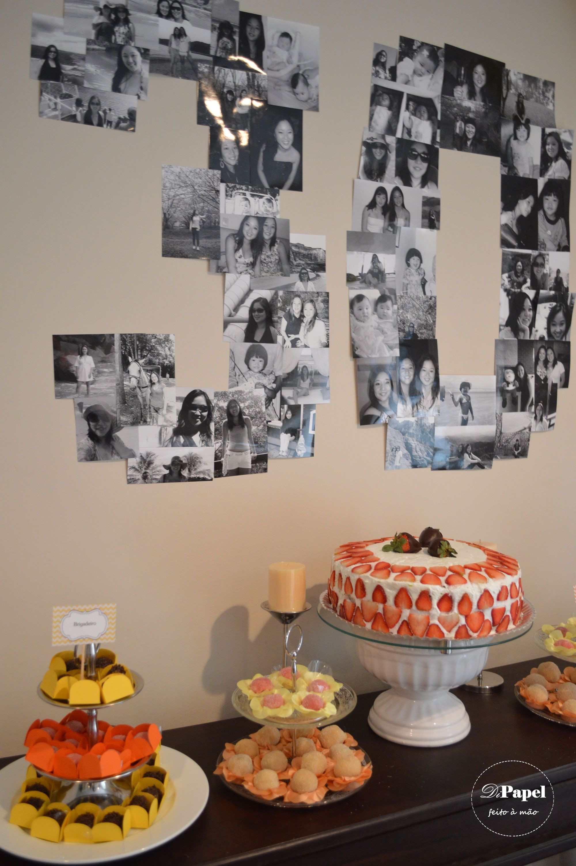 Best ideas about 30th Birthday Decorations . Save or Pin Twins 30th Birthday Party always love a photo number Now.