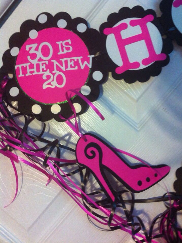 Best ideas about 30th Birthday Decorations . Save or Pin 30th Birthday Decorations Personalization Available Now.