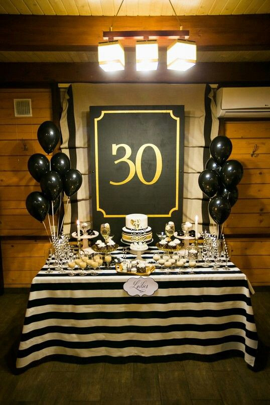 Best ideas about 30th Birthday Decorations . Save or Pin 23 Cute Glam 30th Birthday Party Ideas For Girls Shelterness Now.
